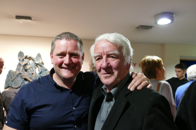 Photo Seán Óg Potts and Mick O'Connor, Tom Crean Concert