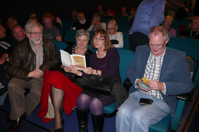 Photo front row Tom Crean Concert