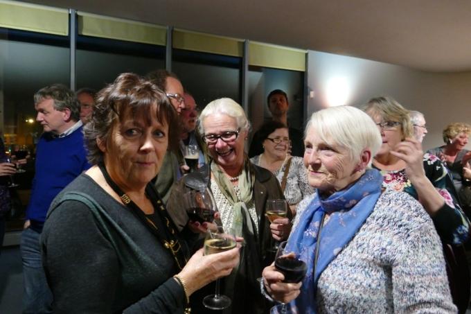 Photo Mag Crean and Esther O'Hanlon, Tom Crean Concert