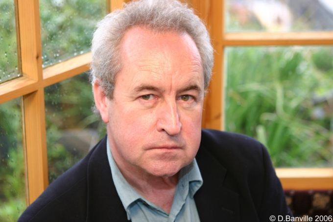 Photo John Banville, Tom Crean Concert